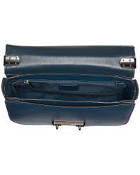COACH - Blue Glovetan Swagger Shoulder Bag - Lyst