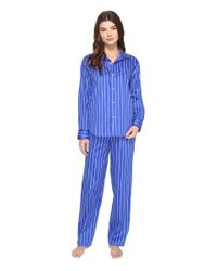 Lauren by Ralph Lauren - Blue Pyjama Set - Lyst