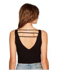 Lucy Love - Black Scoop Bodysuit - Lyst