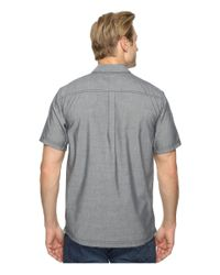 Smartwool - Blue Summit County Chambray Short Sleeve for Men - Lyst