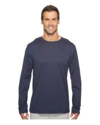 Hanro - Blue Night And Day Long Sleeve Shirt for Men - Lyst