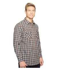 Pendleton - Brown Long Sleeve Frontier Shirt for Men - Lyst