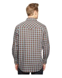 Pendleton - Brown Long Sleeve Frontier Shirt for Men - Lyst
