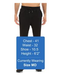 New Balance - Black Classic Sweatpant for Men - Lyst