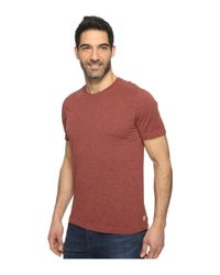 Agave - Red Mickey Short Sleeve Crew Tri-blend Jersey for Men - Lyst