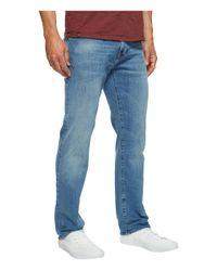 Mavi Jeans - Blue Zach Regular Rise Straight Leg In Light Williamsburg for Men - Lyst