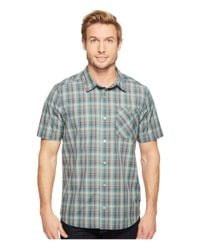 Toad&Co - Blue Ventilair Short Sleeve Shirt for Men - Lyst