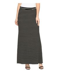 Karen Kane - Black Side Slit Maxi Skirt - Lyst