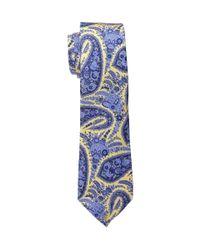 Lauren by Ralph Lauren - Yellow Spectator Paisley Tie for Men - Lyst