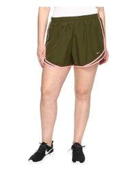 "Nike - Green Dry Tempo 3"" Running Short (size 1x-3x) - Lyst"