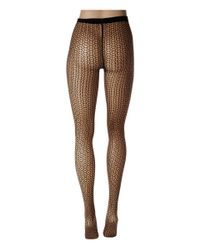 Wolford - Black Loop Tights - Lyst