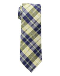 Lauren by Ralph Lauren - Yellow Seasonal Plaid Tie for Men - Lyst