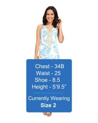 Lilly Pulitzer - Blue Emery Shift Dress - Lyst