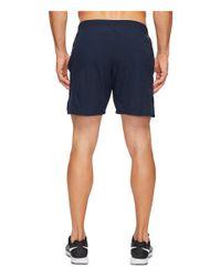 """Nike - Blue Flex 7"""" Running Short for Men - Lyst"""