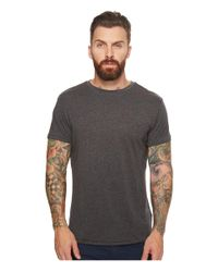 Scotch & Soda - Gray Chic Tee In Cotton/ Quality With Clean Outlook for Men - Lyst