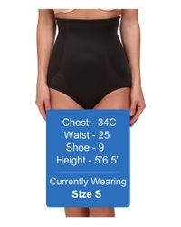 Miraclesuit - Black Back Magic High Waist Brief - Lyst