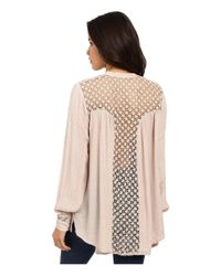 Free People - Natural The Best Button Down - Lyst