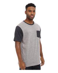 Matix - Gray Standard Clash T-shirt for Men - Lyst