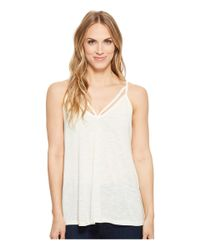 Stetson - White 1582 Rayon Jersey Sleeveless Kint Strappy Tank Top - Lyst