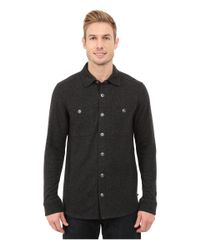 Toad&Co - Black Sidecar Snap Closure Overshirt for Men - Lyst