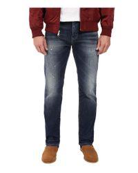 f67338ed43cda Mavi Jeans - Blue Zach Classic Straight Leg In Dark Used Authentic Vintage  for Men -