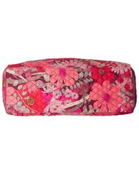 Vera Bradley Luggage - Red Triple Compartment Travel Bag - Lyst