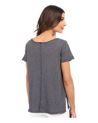 Project Social T - Gray Favorite V Slit Tee - Lyst