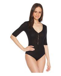 Lamade - Black Ingrid Bodysuit - Lyst
