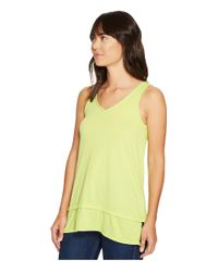Mod-o-doc - Yellow Heather Jersey Banded Tank Top - Lyst