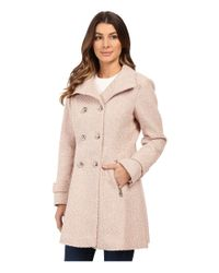 Jessica Simpson - Pink Military Double Breasted Braided Wool - Lyst
