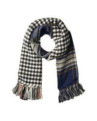 Steve Madden - Blue Double Play-d Blanket Wrap - Lyst