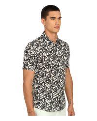 Marc Jacobs - Black Botanical Print Shirt for Men - Lyst