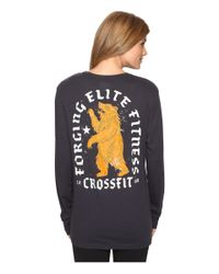 Reebok | Multicolor Crossfit Bear Long Sleeve Tee | Lyst