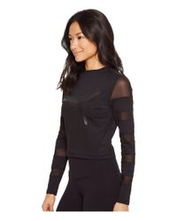PUMA - Black Strapped Up Top - Lyst