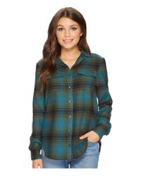 Billabong - Green Venture Out Top - Lyst