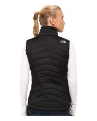 The North Face - Black Mossbud Swirl Reversible Vest - Lyst