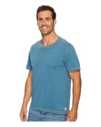 Agave - Blue Skeg Short Sleeve Slub Jersey T-shirt for Men - Lyst