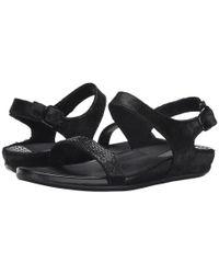 Fitflop - Black Banda Micro-crystal Sandal™ - Lyst