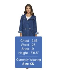 "Marc New York - Blue Dakota Denim 35.5"" Anorak - Lyst"
