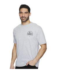 Quiksilver - Gray Tuna Charter Short Sleeve Tee for Men - Lyst