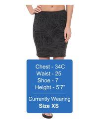 Icebreaker - Black Tsveti Reversible Skirt - Lyst