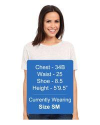 Alternative Apparel - White Melange Jersey Boxy T-shirt - Lyst