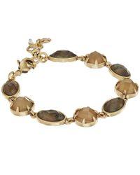 Lucky Brand - Metallic Abalone Link Bracelet - Lyst