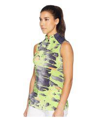 Jamie Sadock - Green Meteorite Print Sleeveless Top - Lyst