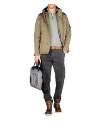 Napapijri | Gray Cargo Trousers for Men | Lyst