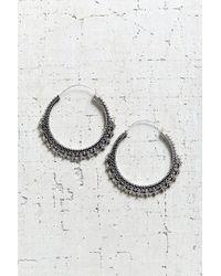 Urban Outfitters - Metallic East End Large Hoop Earring - Lyst