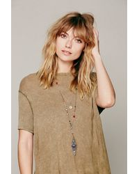 Free People - Multicolor Womens Double Layer Rosary - Lyst