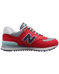 New Balance | Red Wl574 | Lyst