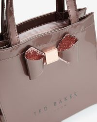Ted Baker - Pink Small Crystal Bow Trim Shopper Bag - Lyst