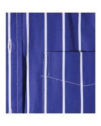 Polo Ralph Lauren - Blue Striped Cotton Shirt - Lyst